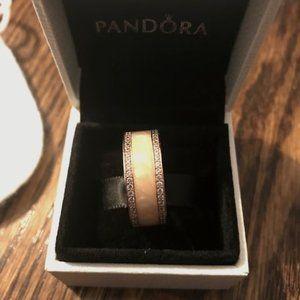 🔥Final Price!! 🔥 Pandora Rose Ring with Pink CZ